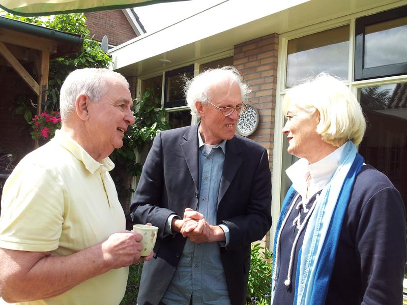 Hein Boele, Henk Weltevreden en Vivian Boelen