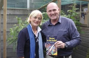 Vivian Boelen en André Kuipers 2 - Opname Sprong in het heelal 2013