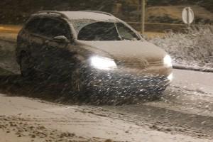 auto sneeuw